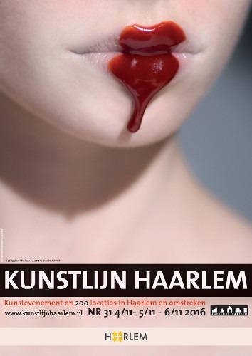 Affiche Kunstlijn Haarlem 2016