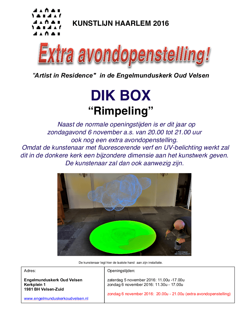 extra-avondopenstelling