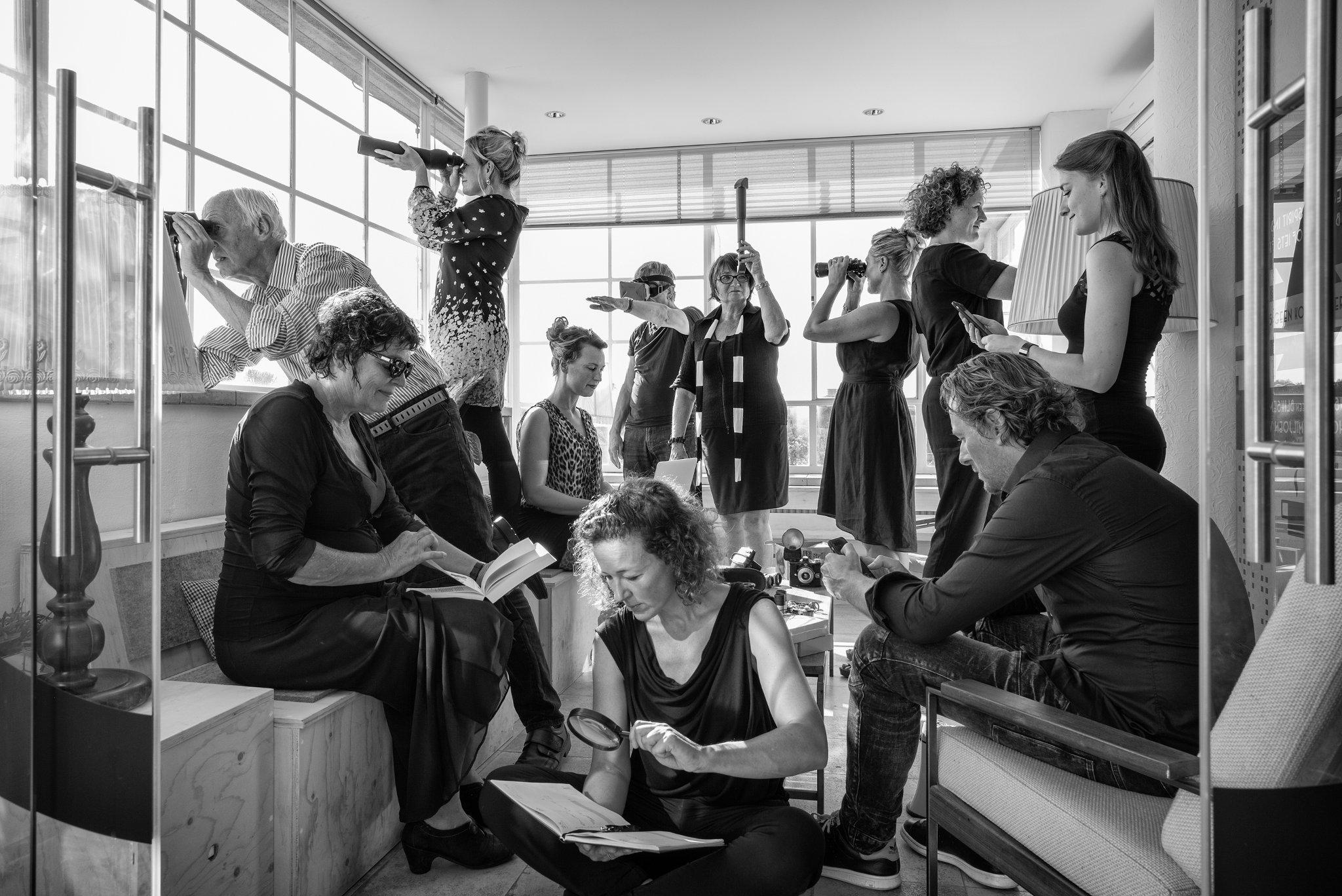Kunstlijn Haarlem teamfoto 2016