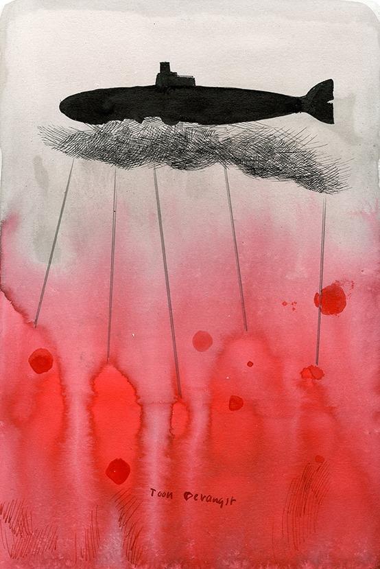 Rogier Polman - Overwegend rood