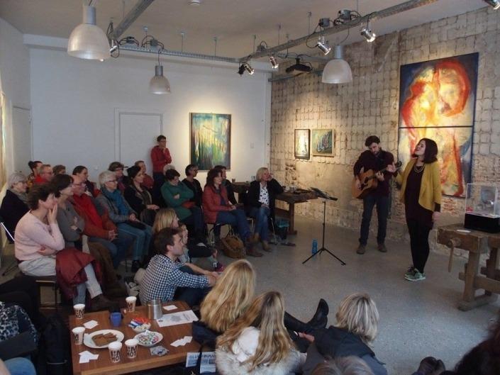 Muziek optreden Galerie SPW59